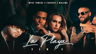 La Playa (Remix) - Myke Towers feat. Maluma y Farruko (Video)