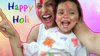 It was AMAZING !! ........#Holi #DIML #VLOG #MyMissAnand | Shruti Arjun Anand