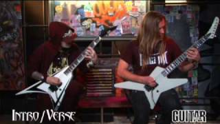 "Children of Bodom: ""Blooddrunk"" Guitar Lesson"