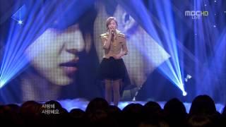 [HD] 20120428_MBC Music Core - Missing You Like Crazy [Taeyeon]