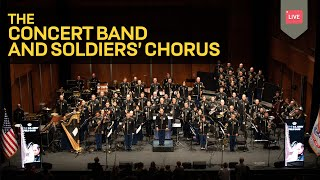 The Star-Spangled Banner- Concert Band and Soldiers