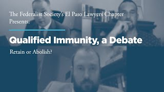 Click to play: Qualified Immunity, a Debate--Retain or Abolish?