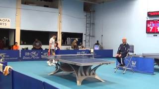 Westchester Table Tennis Center - February 2016 Open Singles Final