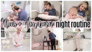 *NEW* NEWBORN + MOMMY NIGHT ROUTINE WINTER 2021 // TIFFANI BEASTON STAY AT HOME MOM OF 4 HOMEMAKING