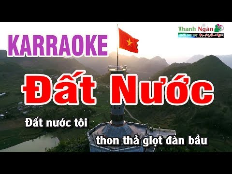 Đất Nước Karaoke   Beat Chất Lượng Cao   Nhạc Sống Thanh Ngân