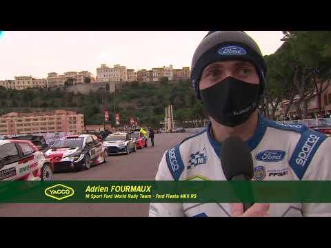 Rallye Monte-Carlo 2021, avec Adrien et Renaud - Troisième étape