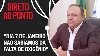 """""""Ninguém nos avisou sobre a falta de oxigênio"""", afirma Pazuello sobre crise em Manaus"""