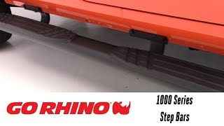 In the Garage™ with Total Truck Centers™: Go Rhino 1000 Series Step Bars