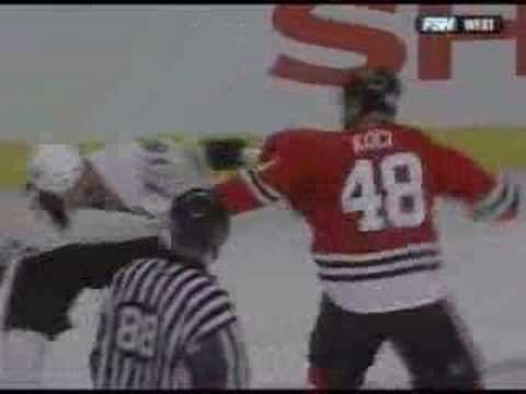 George Parros vs David Koci