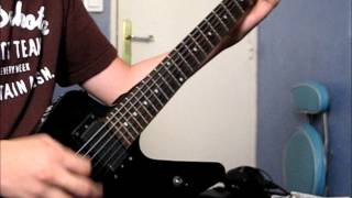 Dope - Take Your Best Shot Guitar Cover