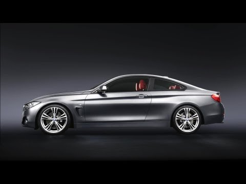 The BMW 4 Series Coupe.