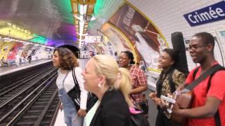 [LIVE] Boeuf REAL TOUCH & CO avant de se quitter dans le métro parisien
