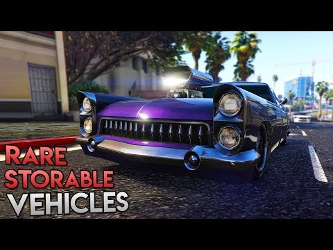 10 Rare Cars You Can Store In GTA Online!