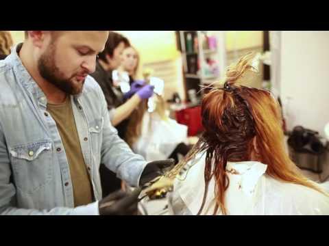 Maska z łamania końce włosów