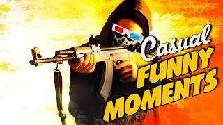 CS GO - Casual Funny Moments!
