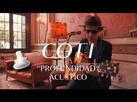 Coti video Profundidad - CMTV Acústico 2017