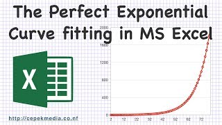 The Perfect Exponential Curve Fitting In MS Excel   Mathematics   Curve Fitting   Excel