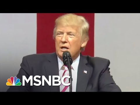 Donald Trump Hits John McCain, Kaepernick, North Korea, & More At Wild Rally | The 11th Hour | MSNBC