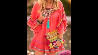 50+ The Truly Amazing Boho Chic Summer Outfits Ideas For Your Inspiration.