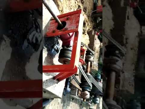 Wire Cut Brick Making Machine hydraulic cutting table