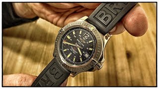 Breitling Colt 41 Automatic (Vulcano Black) Toolwatch mit Diver Pro III Armband   Uhr Clock Watch