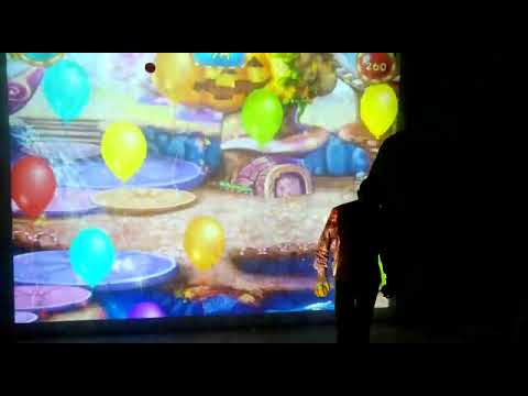 Interactive Arcade Amusement Game