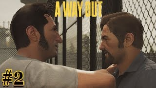 A Way Out: Being Sneaky and The Escape Plan! (Co-op Funny Moments) #2