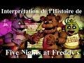 Mon Interprétation de l'Histoire de FNAF !