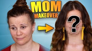 I GAVE MY MOM A MAKEOVER! Full Face Makeup, Hair & Outfit! - Video Youtube