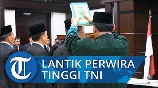 Wiranto Lantik 4 Perwira Tinggi TNI Menjabat di Kemenko Polhukam
