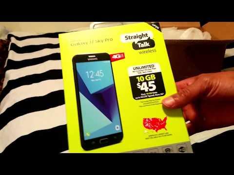 Walmart - Straight Talk Samsung Galaxy J7 Sky Pro Smartphone  Black Friday 2017