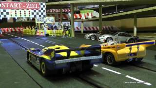 Carrera Bahn Underground SpeedRace / McLaren M20 vs. Porsche 917/30 - One Battle - Evolution 1:32