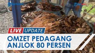 Imbas Pandemi Covid-19, Omzet Penjual Ikan Salai di Muba Anjlok hingga 80 Persen