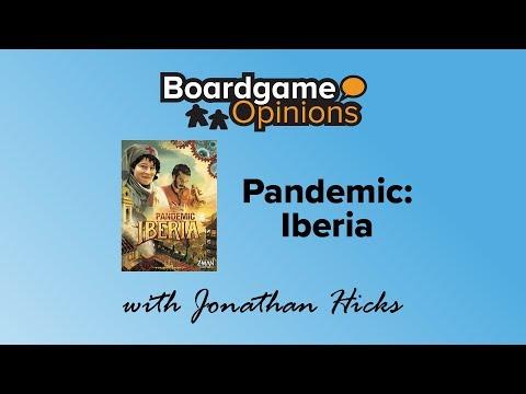 Boardgame Opinions: Pandemic: Iberia