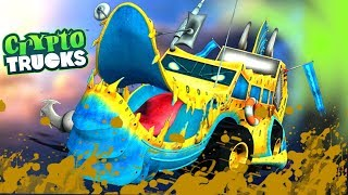 Ness Seal Mud Wash | Crypto Trucks  | Cartoons Shows by Kids tv