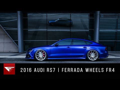 2016 Audi RS7 | Satin Action | Ferrada Wheels FR4