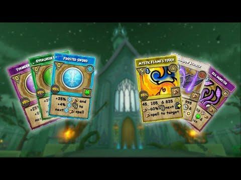 Wizard101: EMPYREA SPELLS (14 Ideas) | Spell Ideas Series ep