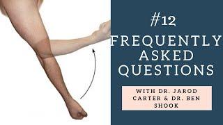 FAQ Q12 - Why does my elbow hurt when I straighten it?