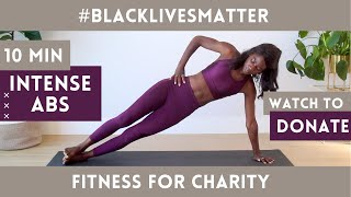 WATCH TO DONATE TO BLACK LIVES MATTER | FITNESS MARATHON | how to financially help blm with no money