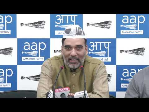 AAP Delhi Convenor Gopal Rai Briefs on Amit Shah Meet With BJP & Cong Youth Attacked AAP Offc