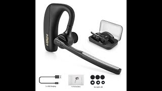 Business Bluetooth Headset Kopfhörer, V4.1 Drahtlos Rauschunterdrückung