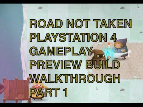Road Not Taken Playstation 4