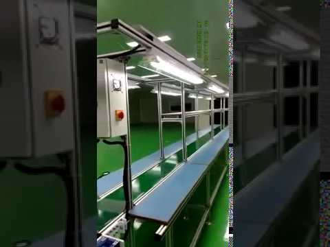 LED Bulb Assembly Belt Conveyor
