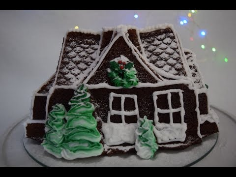 Gingerbread House Cake | Christmas