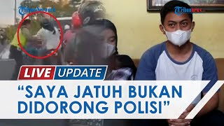 Klarifikasi Pemotor di Semarang yang Diduga Didorong Seorang Polantas: Saya Jatuh Sendiri saat Kabur