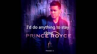 Prince Royce - close to you lyrics