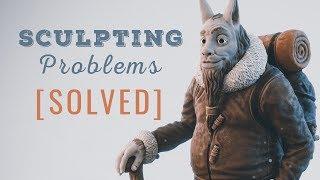 resolvendo problemas com sculpt no blender !