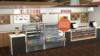 Cossiga - THINK OUT OF THE BOX - Food Display Cabinets / Cases