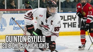 Quinton Byfield | 2018 OHL Cup Highlights