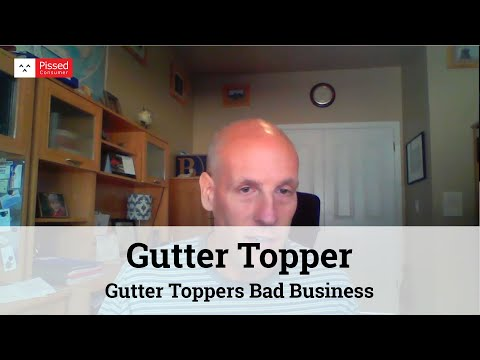 Gutter Toppers Bad Business
